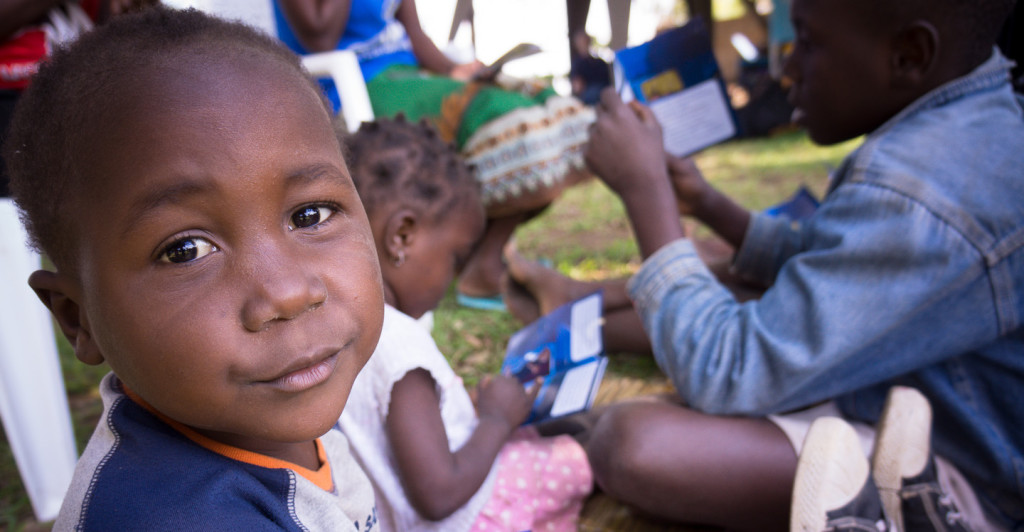 You can share the joy of reading with a child in Mozambique.