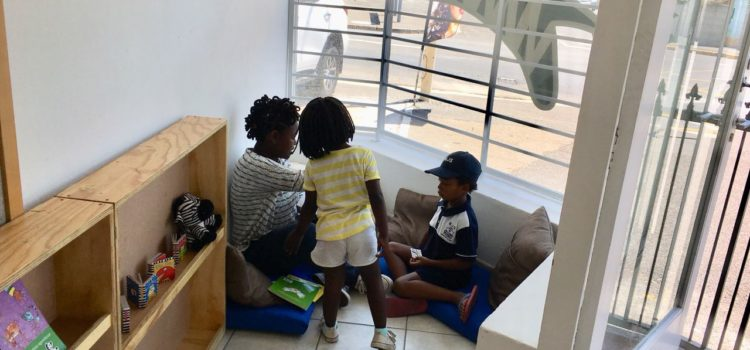 New Reading Room Shares Books in South African Languages